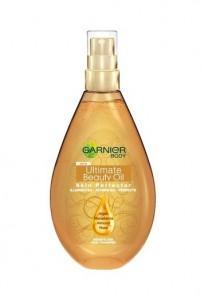 Garnier Ultimate Beauty Oil великолепно разкрасяващо олио за тяло