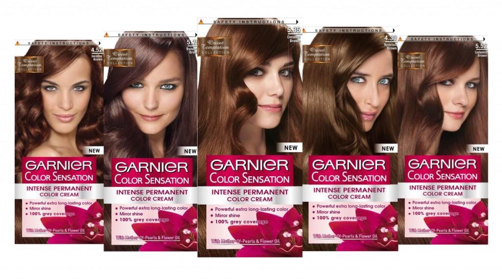 Garnier Color Sensacion Orient Temptation боя за коса