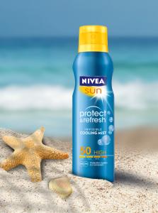 Nivea Protect & Refresh охлаждащ слънцезащитен спрей - за освежаващо удоволствие
